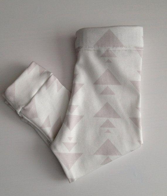 handmade organic cotton knit leggings by LittleAcornLeggings, $24.00