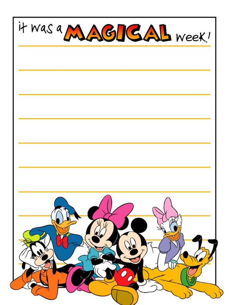 "It was a magical week! - Mickey & friends - Project Life Journal Card - Scrapbooking ~~~~~~~~~ Size: 3x4"" @ 300 dpi. This card is **Personal use only - NOT for sale/resale** Clipart belongs to Disney. Fonts are StuVetica2 www.dafont.com/stuvetica2.font and Mickey www.dafont.com/mickey.font *** Click through to photobucket for more versions of this card with different characters ***"