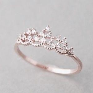 Imagem de ring, crown, and gold
