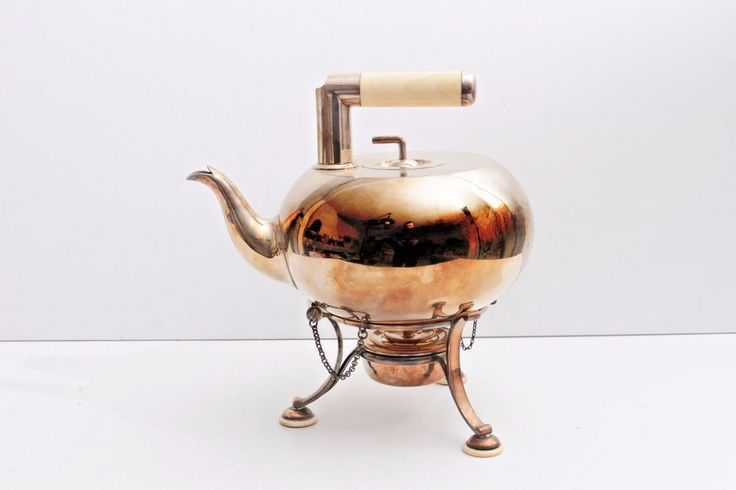 c1870 Richard Hodd & Son Silver Plated Teapot, Possibly Christopher Dresser #RichardHoddSon