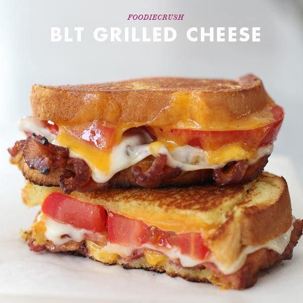 We all love a grilled cheese sandwich. And we love a crunchy BLT. So what happens when the two get together? We wonder why we hadn't thought of i...