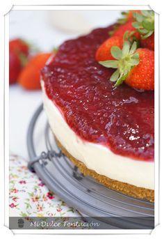 Mi dulce tentación: Cheesecake Sencillo en 30 min con leche condensada