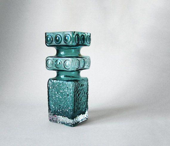 Vintage Cased Tamara Aladin Riihimäen Lasi Finnish Glass Vase $199.15 at LeKosmosBerlin
