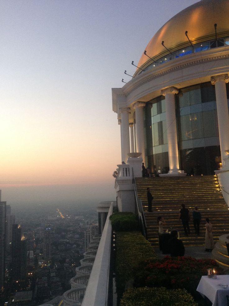 Sirocco at the State Tower Bangkok City Thailand. La bua