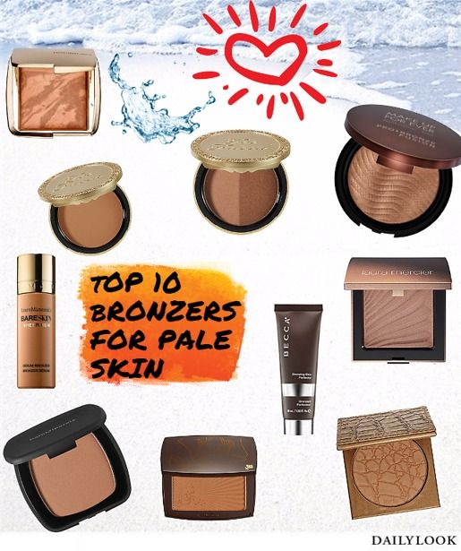 Top 10 Bronzers for Pale Skin! Prime Beauty Blog | Prime Beauty Reviews | Pinterest | Makeup ...