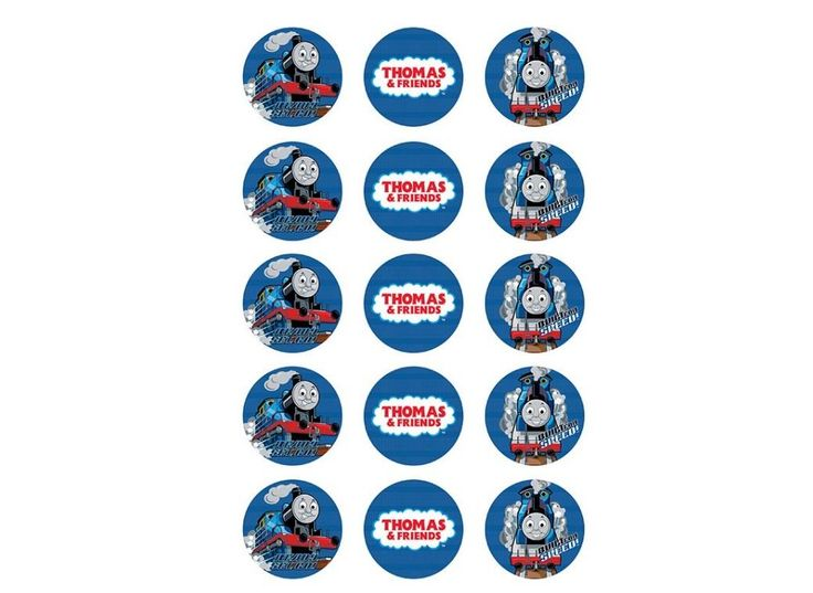 Edible Icing Cupcake Images - Thomas the Tank Engine