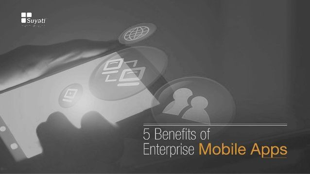 Mobile users are spending more time than ever before on mobile. It is therefore necessary for companies to increase mobility and take advantage of BYOD (Bring Your Own Device).Read more about the Benefits of Enterprise Mobile Apps.