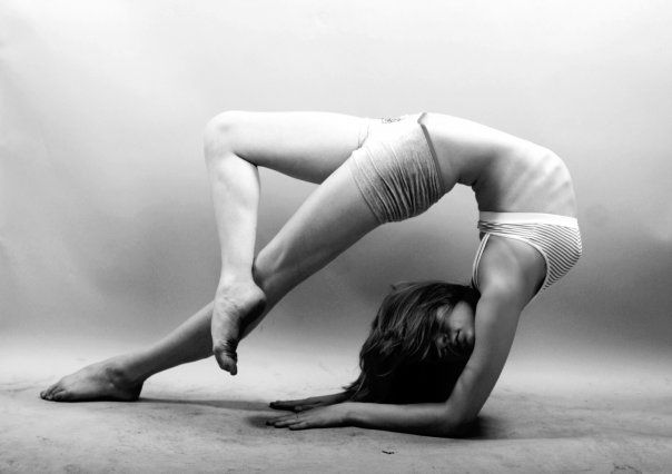 thats not yoga that contorting...