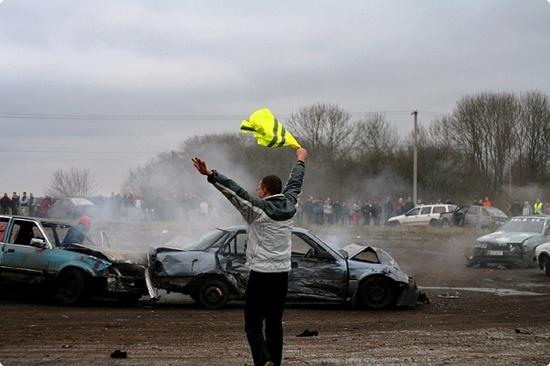demolition derby #stagdo #tallinn