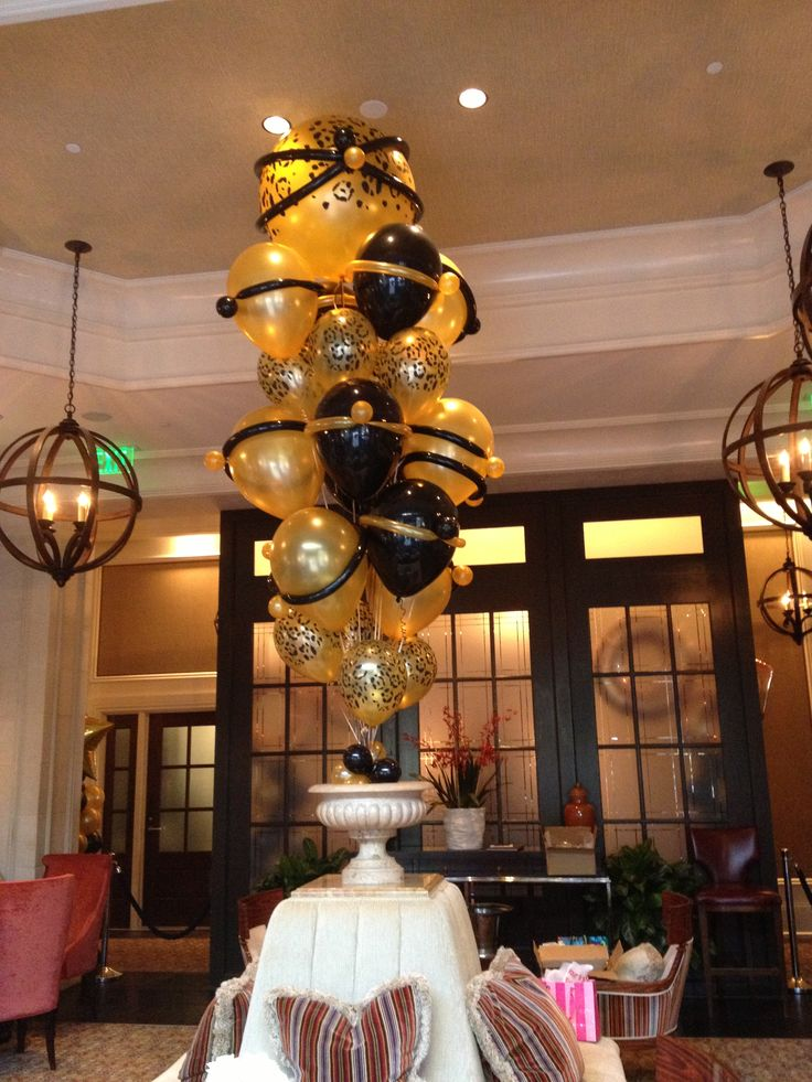 Big impact balloon bouquets | Dagmar's Red 50th Birthday ...