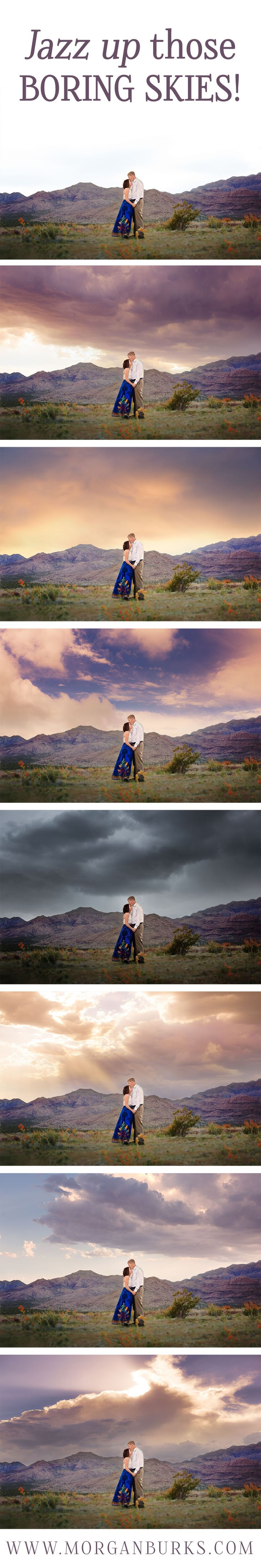 Beautiful sky overlays! Plus free video tutorials and free samples!  | www.morganburks.com