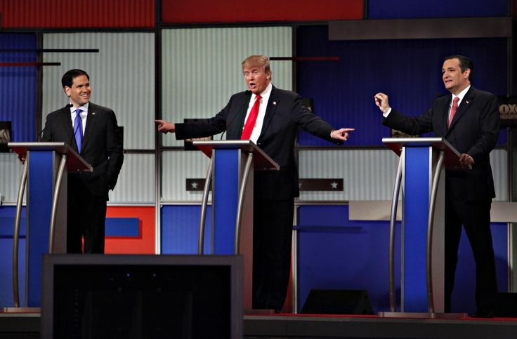 The top Republican candidates for president face off in South Carolina