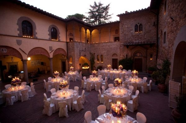 Italian wedding reception venues and ideas | Wedding Planners in Italy