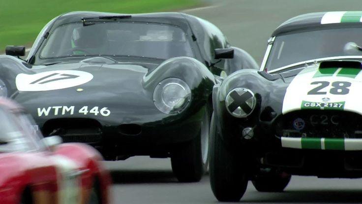 The Goodwood Revival RAC TT 2013, in a Lister Jaguar Coupe. -- /CHRIS HA...