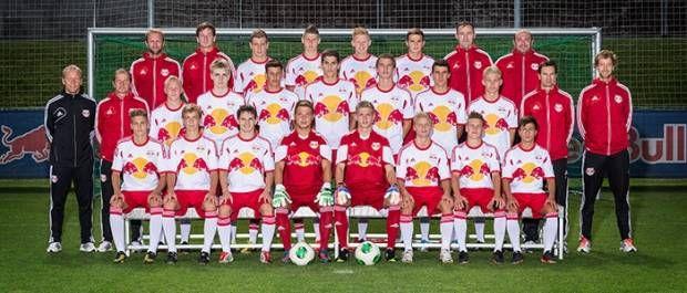 Die U18 des FC Red Bull Salzburg