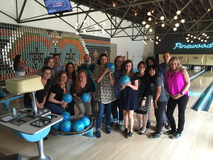 Nashville Chamber: The Nashville Chamber aids community leadership in Nashville, Tennessee, to help create the conditions for economic prosperity. In June 2016, the Chamber members had some fun and bonding when they headed out to the Pinewood Social for a game of bowling.