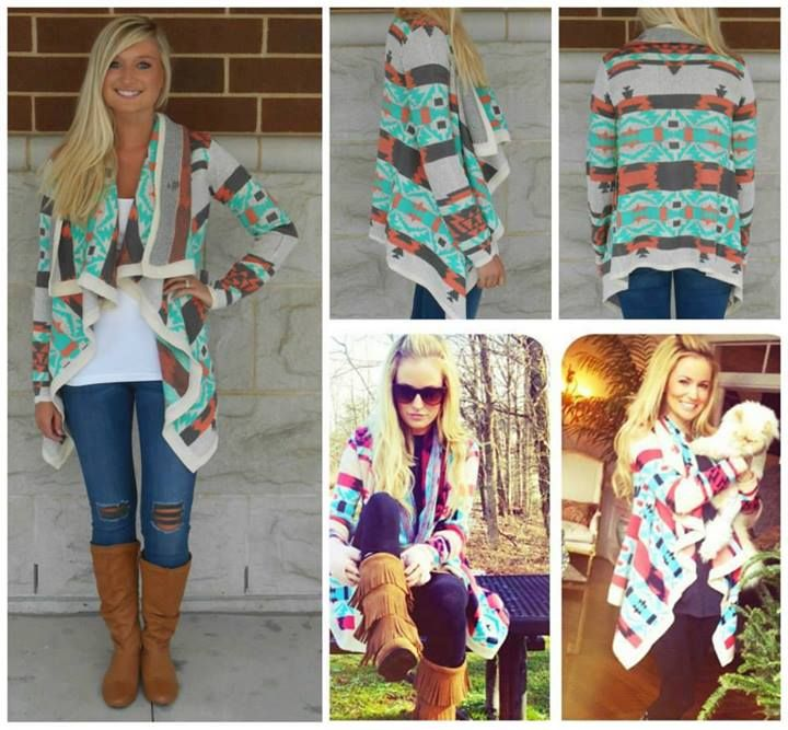 COLORFUL AZTEC SWEATER on The Hunt