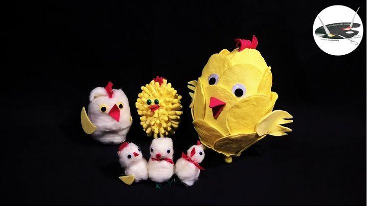 Kurczaki z waty na 4 sposoby - Pomysły plastyczne dla każdego