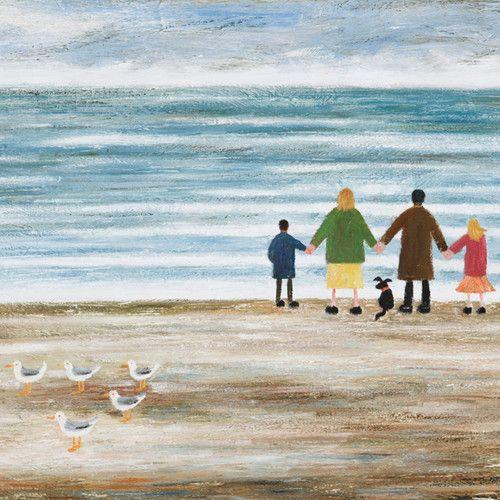 'A Lovely View' By Paul Robinson. Blank Art Cards By Green Pebble. www.greenpebble.co.uk
