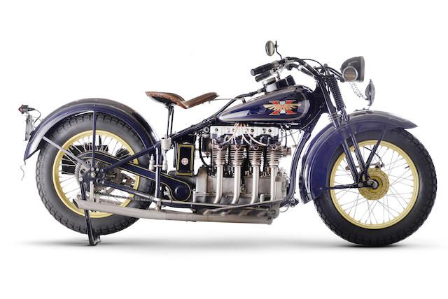 1930 Henderson 1,301cc Model KJ 'Streamline' Four Frame no. 34483 Engine no. KJ34483