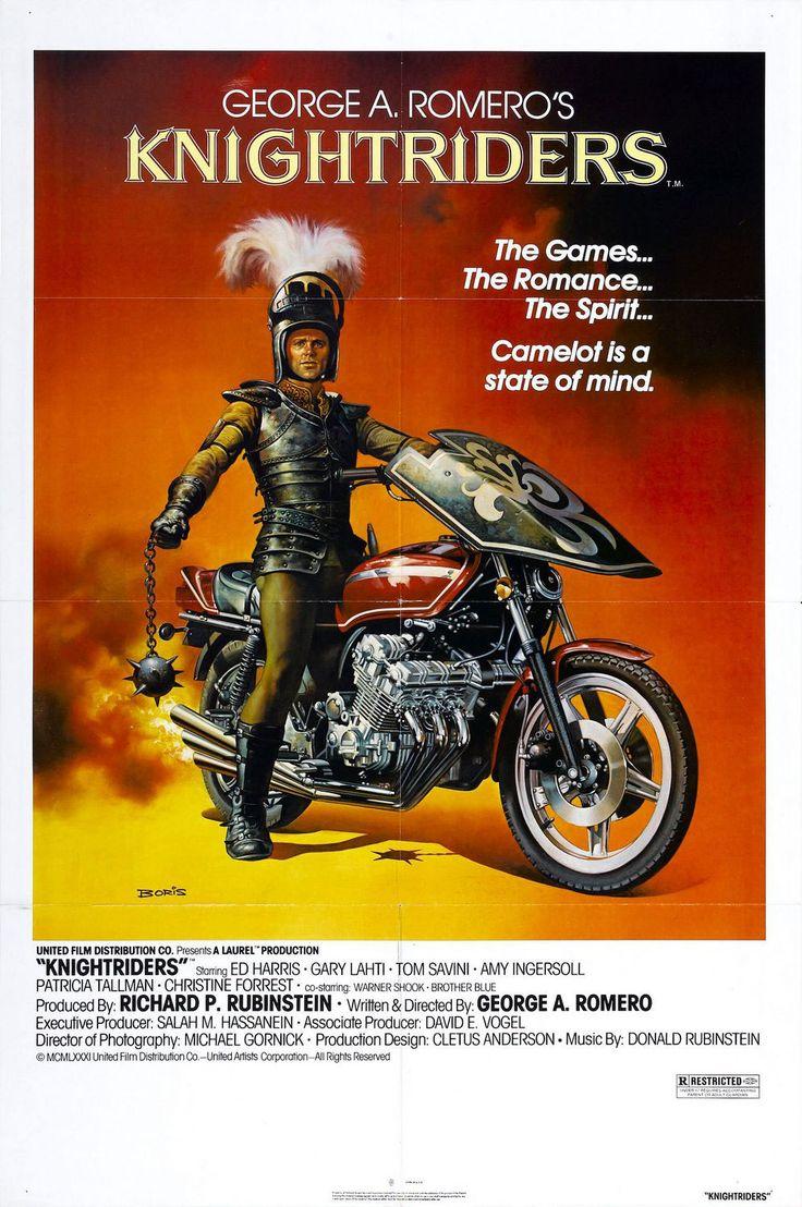 """""""Knightriders"""" (1981) Carteles de películas, Carteles de"""
