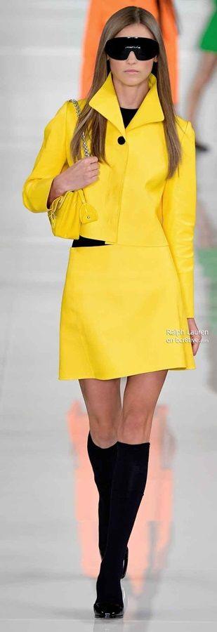 Yellow Fashion - ralph lauren