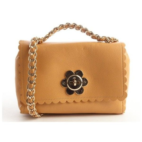 Mulberry Biscuit brown leather daisy buckle shoulder bag (€865) ❤ liked on Polyvore featuring bags, handbags, shoulder bags, biscuit brown, brown leather purse, genuine leather handbags, leather handbags, leather shoulder bag and handbags shoulder bags