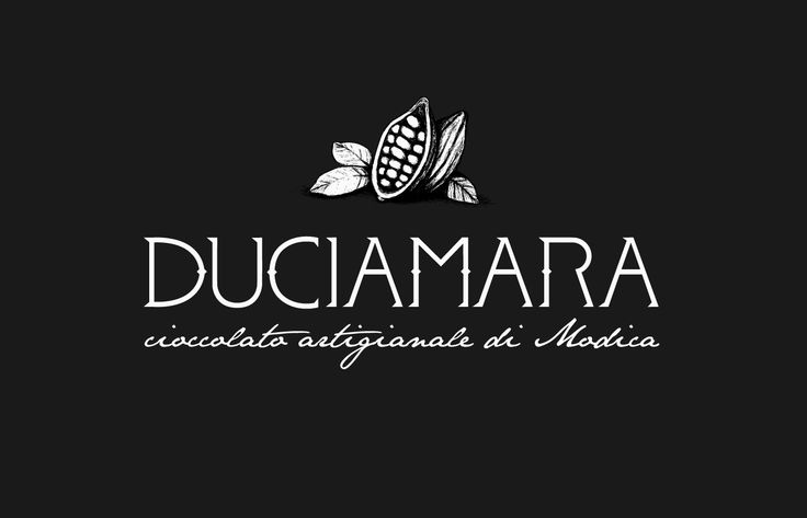 Duciamara is a new brand of handmade chocolate produced in Modica (Sicily), available in six flavors. Here you can find some preliminary sketches and the logo and packaging design.