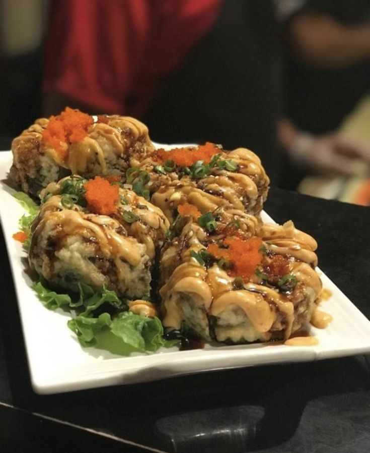 A sushi roll you won't find outside of West TN and not to
