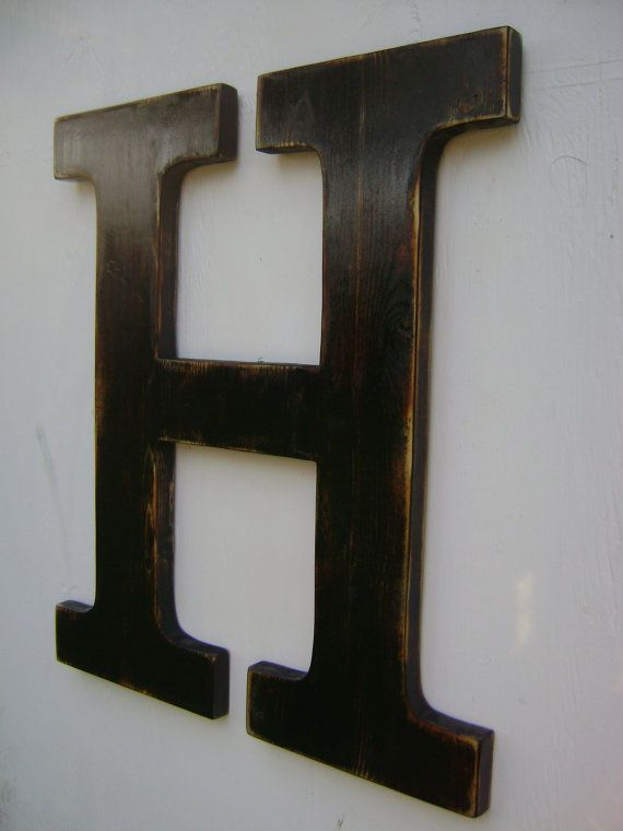 17 best ideas about hanging wooden letters on pinterest top roping wooden signs for home and initial crafts