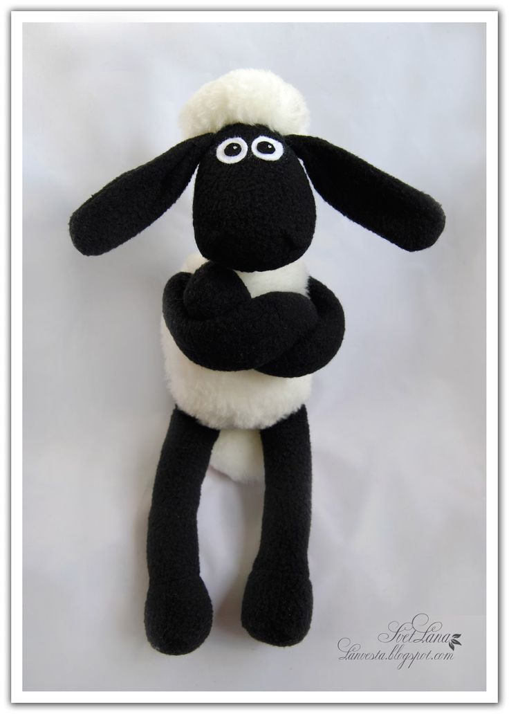 DIY pattern Shaun the sheep