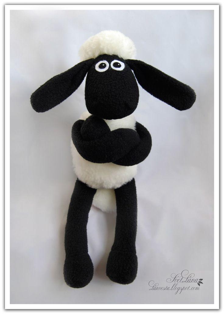 DIY pattern Shaun the sheep