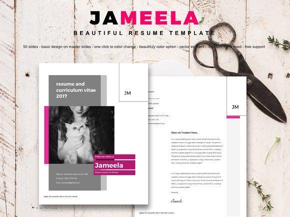 Jameela beautifully 8 pages resume   @creativework247
