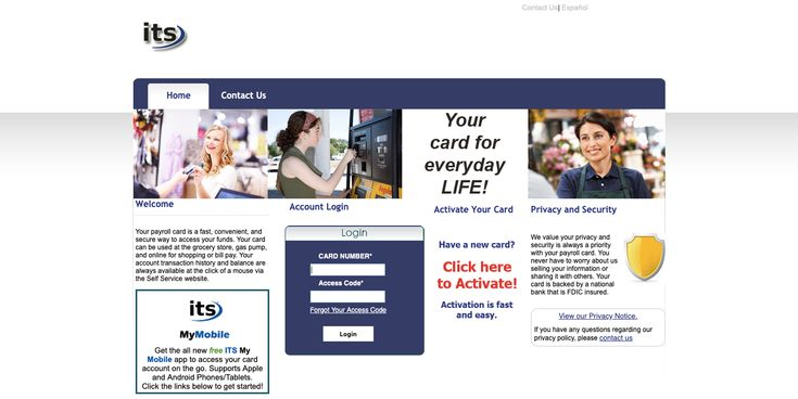 Its prepaid payroll card online activation in 2020 check