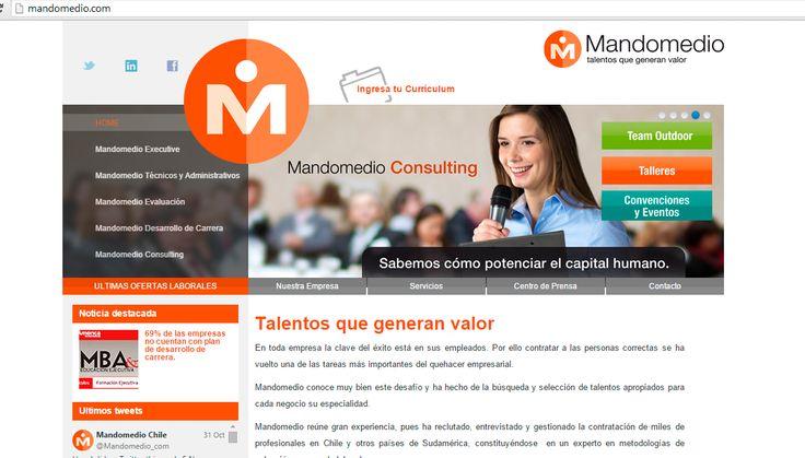 Sitio Web Mandomedio