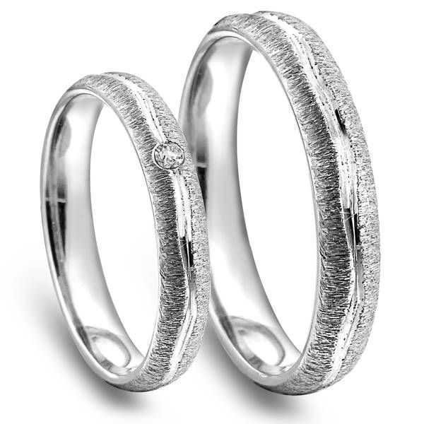 Forlovelsesringer med diamant N10135_N10735