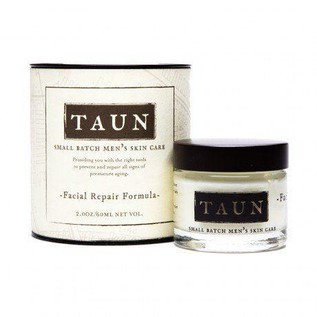 TAUN Facial Repair Formula: Mens Anti-aging Moisturizer, 2.0 ounces by TAUN: Small Batch Mens Skin Care, http://www.amazon.com/dp/B006UK3G0U/ref=cm_sw_r_pi_dp_qbiPrb1D7J439