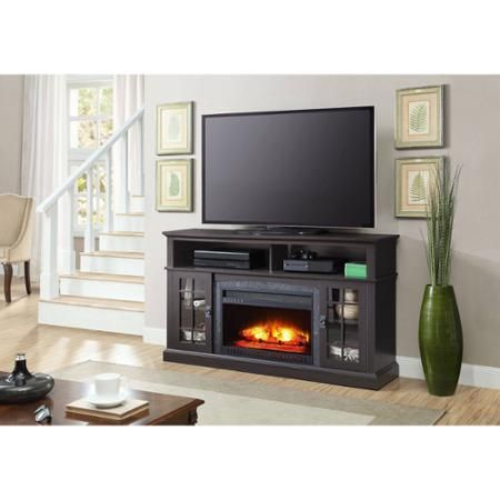 "Better Homes and Gardens Mission Media Fireplace for TVs up to 65"" - Walmart.com"