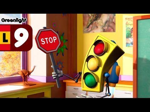 Las señales de trafico, seguridad vial niños