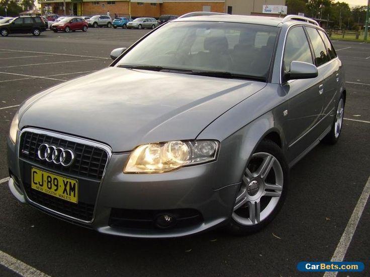 2008 Audi A4 B7 Sline Avant audi a4 forsale australia  Cars