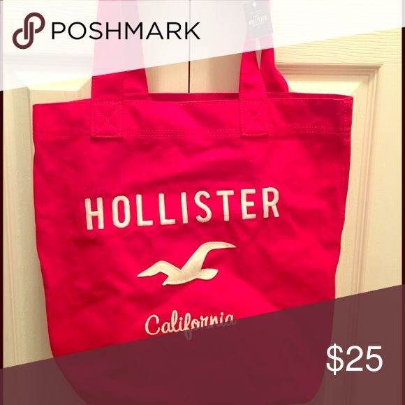 NWT red hollister tote Tote bag Bags