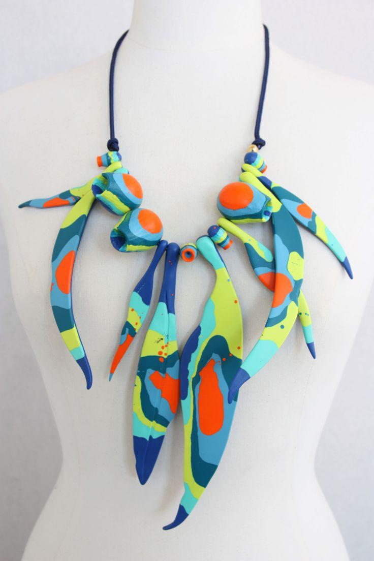 Dinosaur Designs for Romance Was Born - Large Gumnut Necklace in Art Range