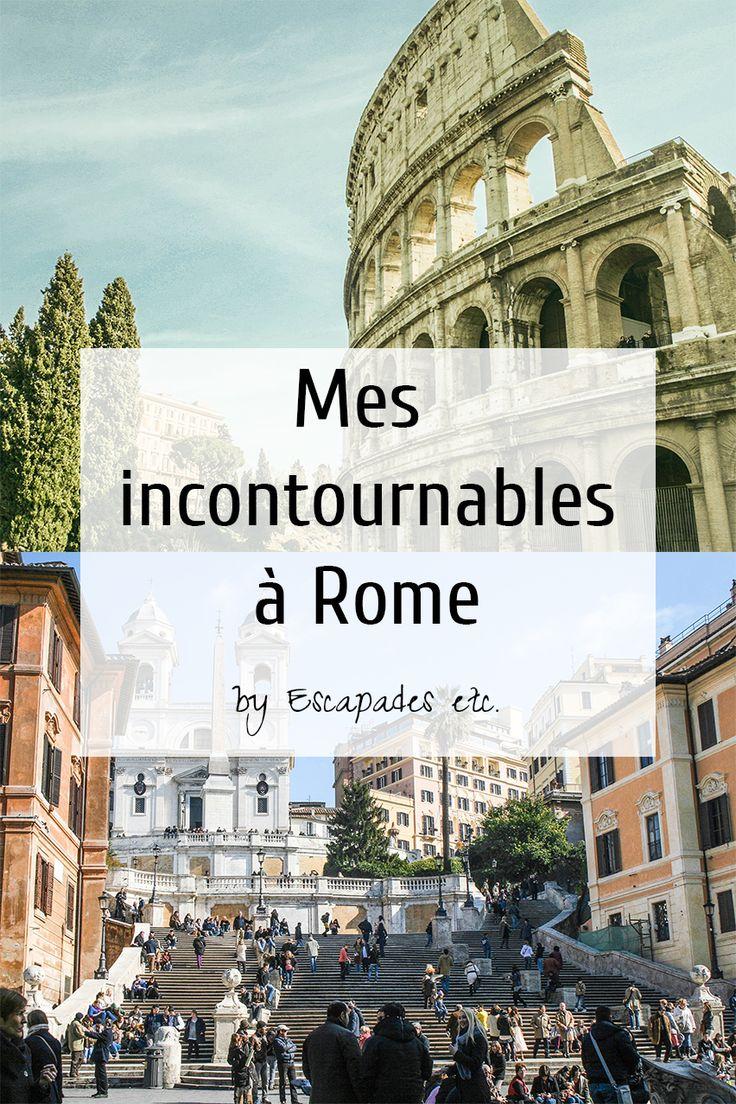 Un long week-end à Rome : mon city guide • Escapades etc.