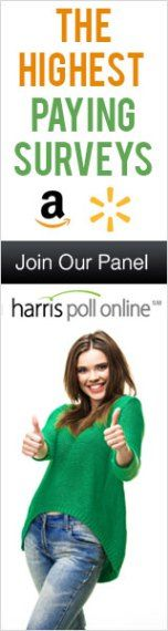 Join Harris Poll Today- The Highest Paying Surveys! You can becomeaHPOLMember, (Harris Poll On-Line) and you will instantly receive a quick survey to earn your first points! Complete the initial survey and you will start receiving invitations to participate in a variety of cool surveys. Topics include: consumer, technical, political, etc. For every survey you successfully complete, you will receive points called HIpoints, which you will be able to exchange for awesome rewards after just…