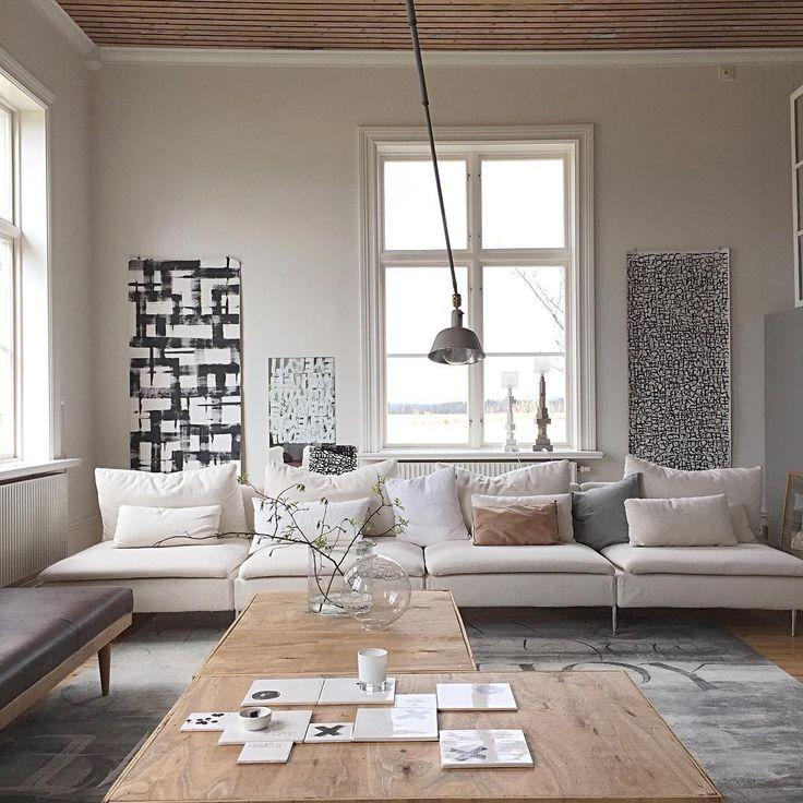 Ylva Scarpu0027s living room 214 best ikea