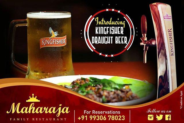 16th Anniversary celebrations Buy one Get One FREE KF draught beer offer till March 31 2018.  Come celebrate the MAHARAJA way. Call 9930678023 . . . . . #Maharaja #MaharajaMangalore #MaharajaRestaurant #16thanniversary #MaharajaFamilyRestaurant #Restaurant #IndianFood #IndianThali #igersindia #igers #beer #ilovebeer #draughtbeer #kingfisher #kingfisherbeer #beerlovers #matkabeer #mangalore #karnataka #kudla #gsb #gsbcuisine #homemade  #mangalorerestaurant