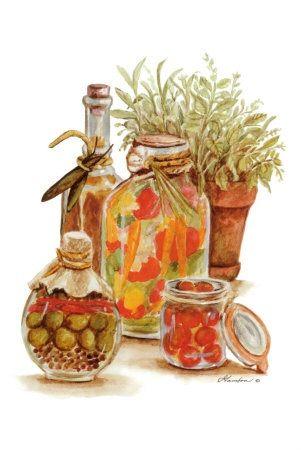 Herbs & Oils #1 (Consuelo Gamboa)