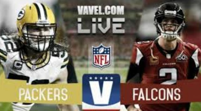 Packers vs Falcons live stream