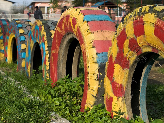 Best 25 Painted Tires Ideas On Pinterest Tyres Recycle