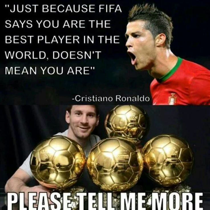 FIFA isn't the only one who thinks Messi is the best player in the world!